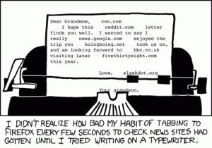 Schreibmaschinen im Zeitalter von Web 2.0